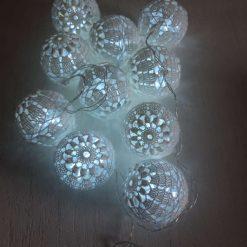 Crochet Baubles Led Lights