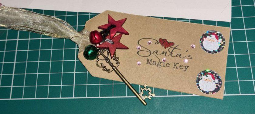 Handmade Santas Magic Key 6