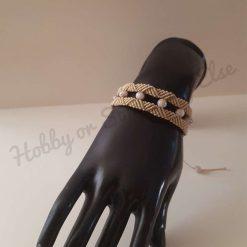 Macrame Bracelet, Braided Bracelet, Micro Macrame, Gift For Her