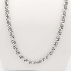 20 inch Double Spiral Chainmaille Necklace