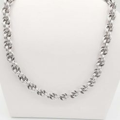 18 inch Double Spiral Chainmaille Necklace
