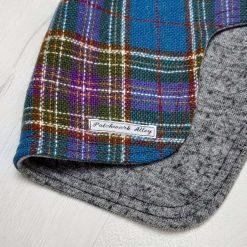 Manx tweed dog jacket - Vintage style  (small) 3