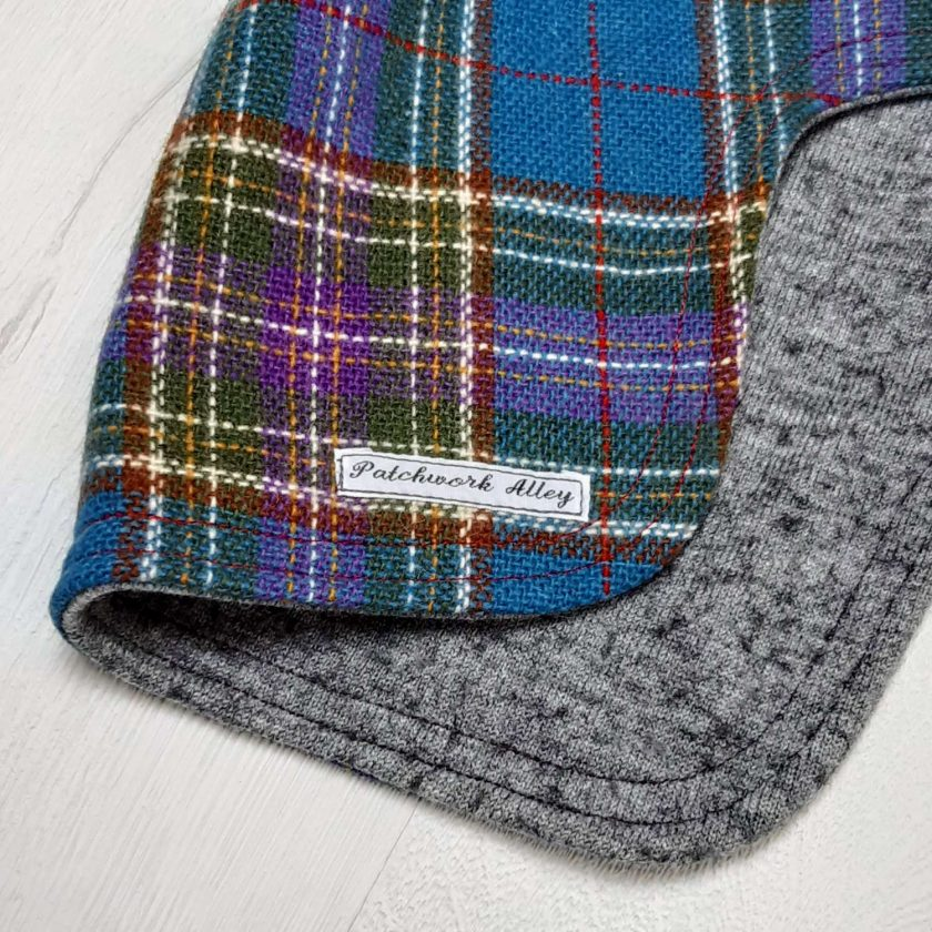 Manx tweed dog jacket - Vintage style  (small) 2
