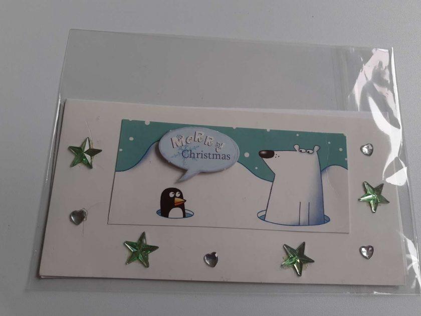 handmade christmas card 1