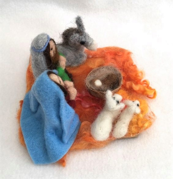 A Beautiful Nativity Scene 2
