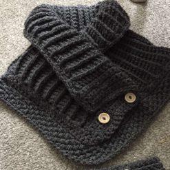 1 only Winter woolies neck & ear warmer set 6