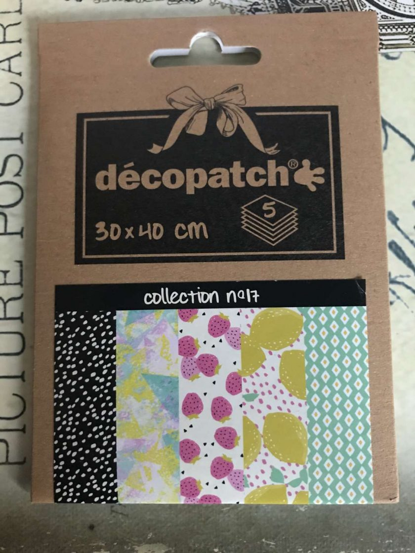Decoupage Papers No 17 1