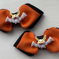 Pair of Halloween tie bow