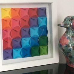 3D geometric paper picture