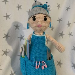 Newborn crochet dress