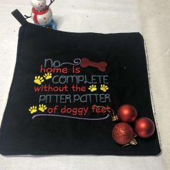 Dog Paw Towel - Paws to the Enjoy the Good Life