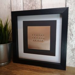 Copper 7 Year Anniversary Frame