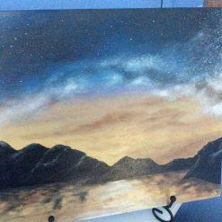 Milky Way Over Bodmin Moor