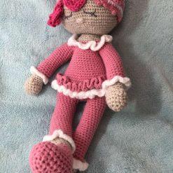 Baby crochet doll