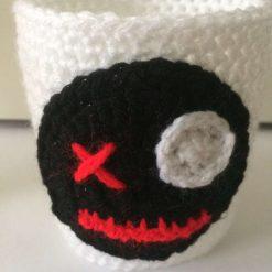Voodoo Gothic Red Cup Cozy Sleeve Reusable Coffee Tea