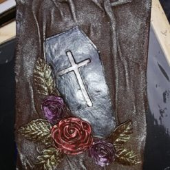 Coffin and Roses Journal
