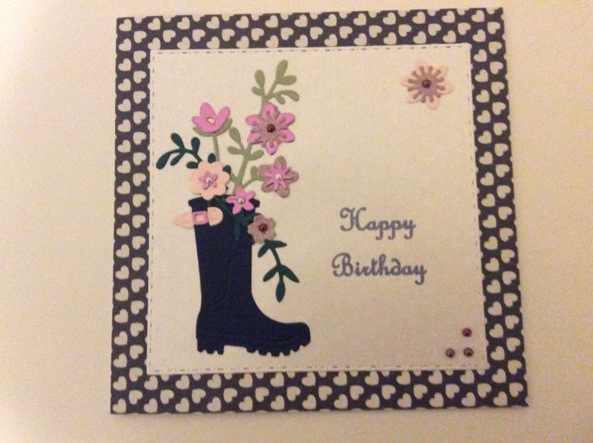 Handmade Birthday Card 1