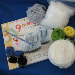 9 Months to Crochet, crochet kit, baby projects