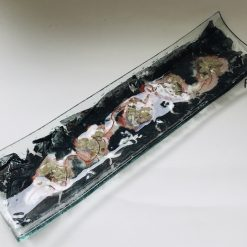 Fused Glass Platter or Table Centre