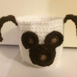 Cute Brown Dog Cup Cozy Sleeve Reusable Coffee Tea