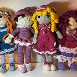 Customised crochet doll