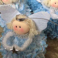 Baby powder fragranced Christmas fairy