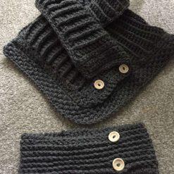 1 only Winter woolies neck & ear warmer set 8