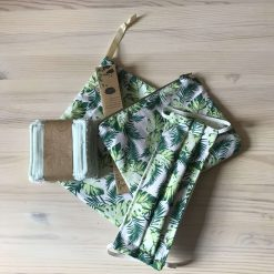 Eco Gift Set in Swiss Cheese Plant Fabric