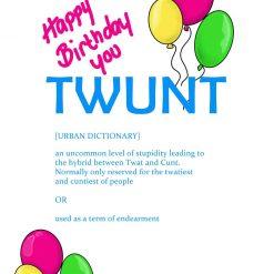 TWUNT Birthday Card 3