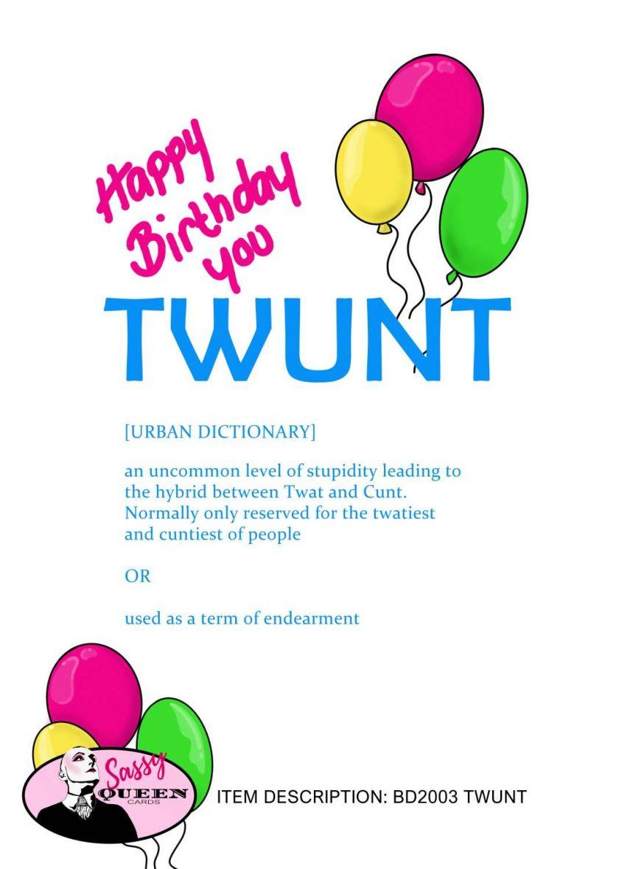 TWUNT Birthday Card 2
