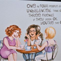C3287 -  Card - One in four people ... 5