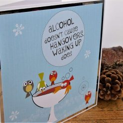 C3589 - Christmas Card - Alcohol doesn't cause... 5