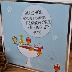 C3589 - Christmas Card - Alcohol doesn't cause... 6