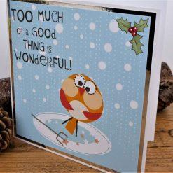 C3591 - Humorous Christmas Card 5