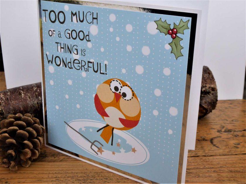 C3591 - Humorous Christmas Card 2