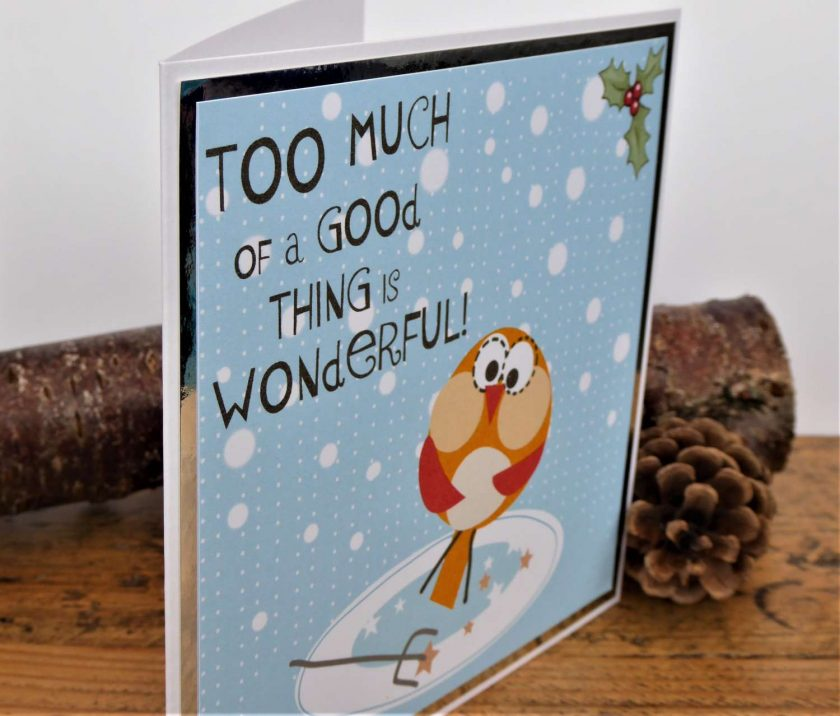 C3591 - Humorous Christmas Card 3