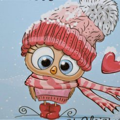 C3599 - With love at Christmas card 7