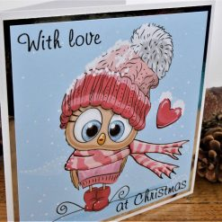 C3599 - With love at Christmas card 6