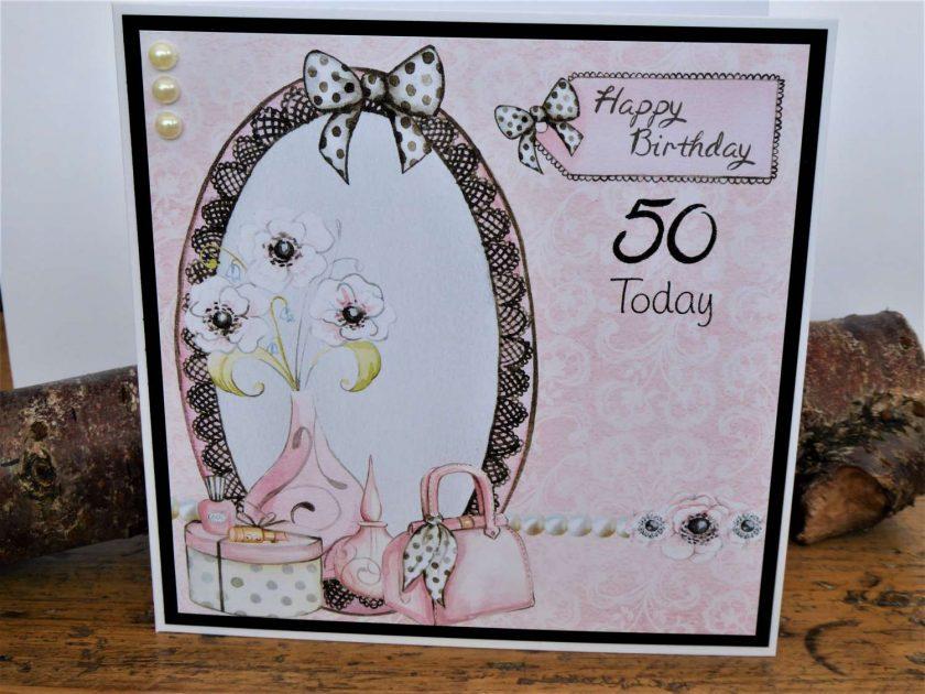 C3602 - Happy Birthday 50th 1
