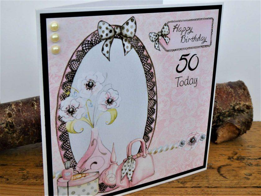 C3602 - Happy Birthday 50th 2