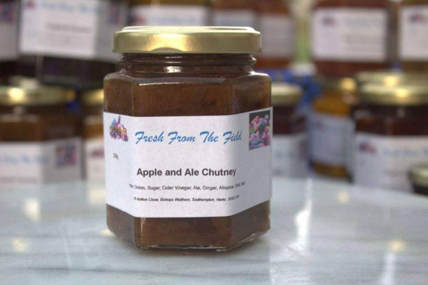 Apple and Ale Chutney 1