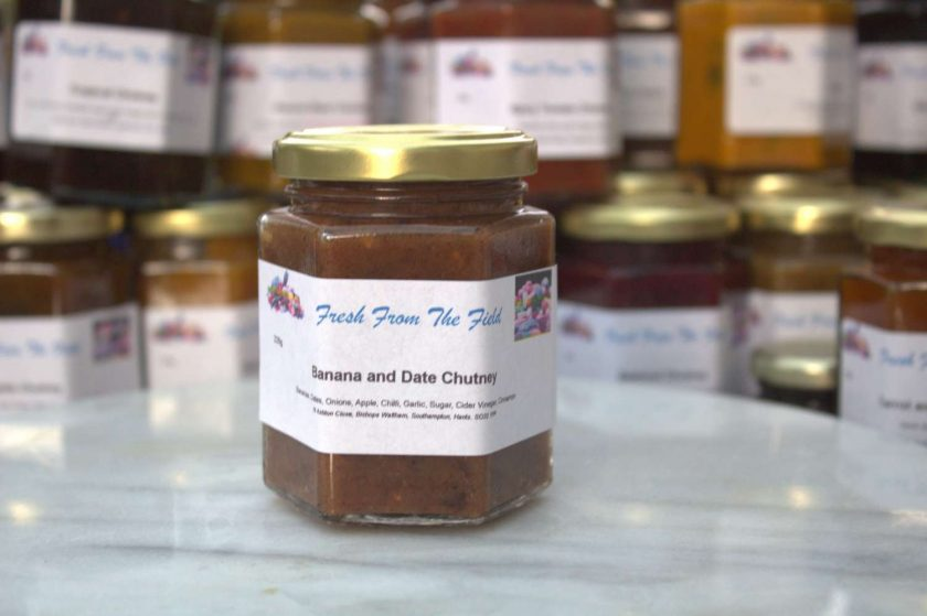 Banana and Date Chutney 1