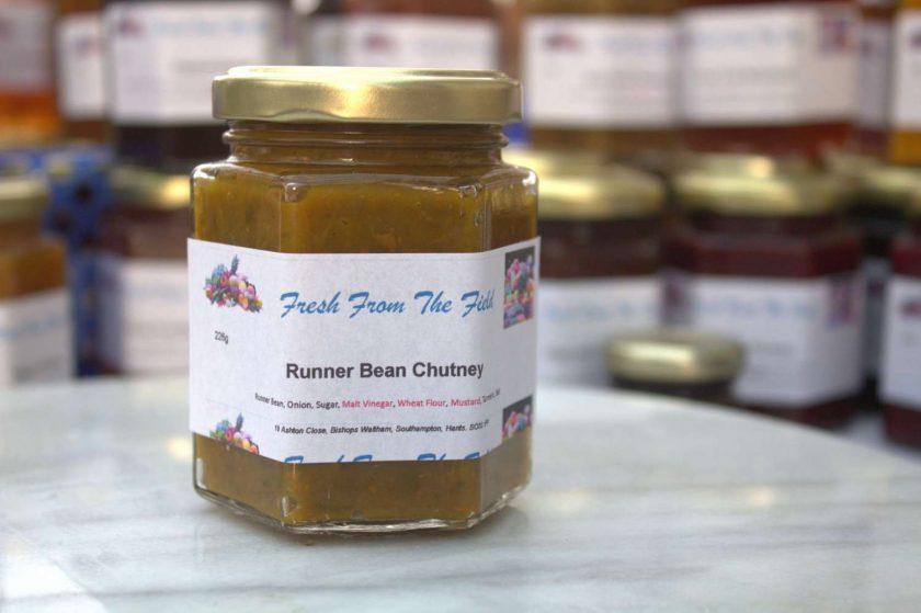 Runner Bean Chutney 1