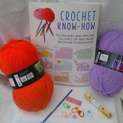 START CROCHET KIT, learn crochet, crochet for beginners, improve your crochet