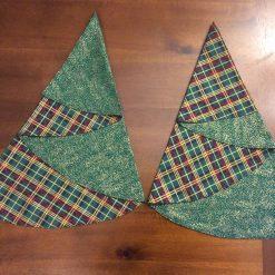 Set of 2 Christmas Tree napkins