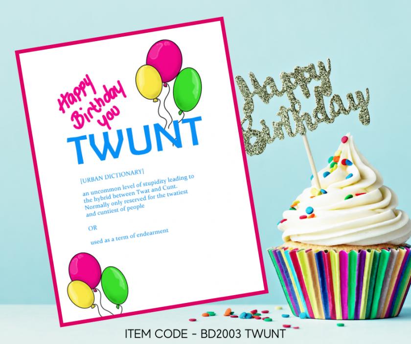 TWUNT Birthday Card 1