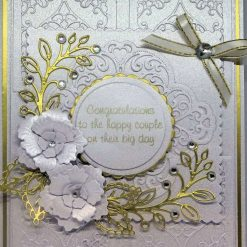 3D, Layered A5 Exclusive Designer Wedding Card, With Box.