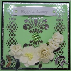 3D, Layered 6 x 6 Exclusive Designer Card Topper, Embellishments, Card Making, With Box.