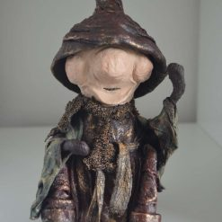 Cute and Funny sitting Garden Elf - Unique design - weatherproof