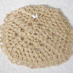 Dual Purpose Crocheted Cushion Cover Doily